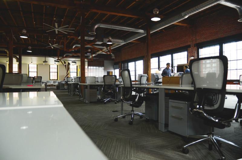 Open Plan Office Image
